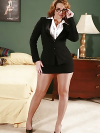 Pantyhose Business Suit