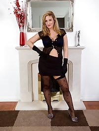 Elegant 31 year old Jenny Badeaux from AllOver30 has big..