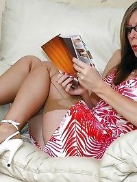 dildo catalogue turn on for stocking milf