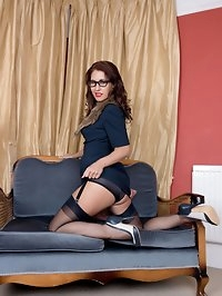 Your tutor Ms. West make a rare home visit to get your..