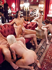 Come in and join our big open swingers orgy
