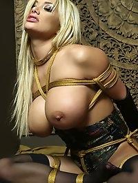 Shylas Blonde Erotic Bondage