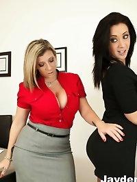 Busty Office Sluts