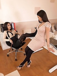 Wet & Horny at the Office