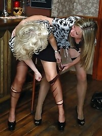 ripping nylon girls