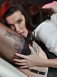 Nurse Jane gives this sexy Tgirl a thorough examination