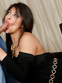 Laurie Vargas is lonely without her husband so she fucks..
