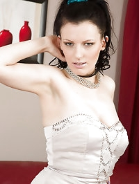 Horny brunette Charisma Jones from AllOver30 looking..