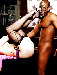 Paige is in need of a strong rub down by this black stud..