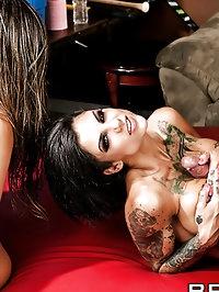 Rachel RoXXX, Bonnie Rotten Pictures in No Tits Barred