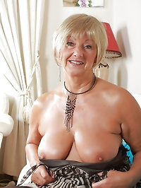At 62 years old Samantha T knows exactly what to do with..